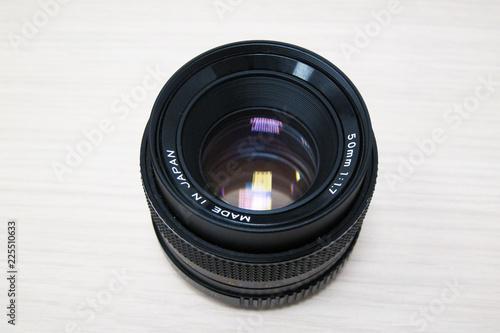 Fotografía  50 mm f 1.7 lens