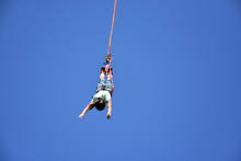 Bungee Jumping From Crane. See...