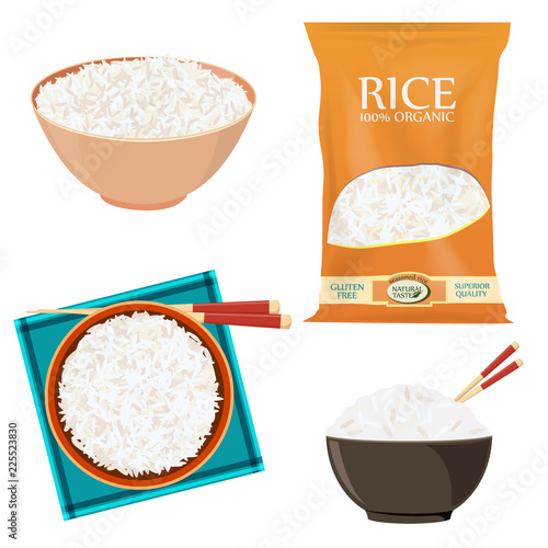 Fotografia Rice pack
