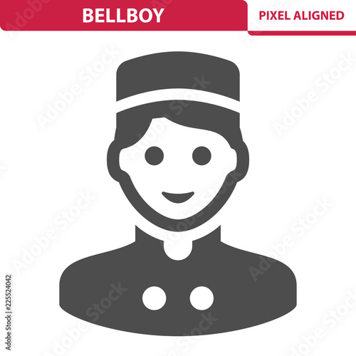 Vászonkép Bellboy Icon