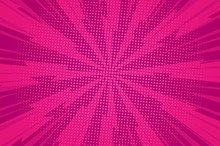 Comic Dynamic Pink Background