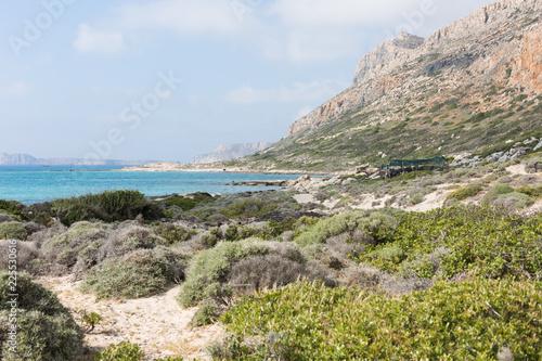 Foto op Plexiglas Cyprus Blue Lagoon