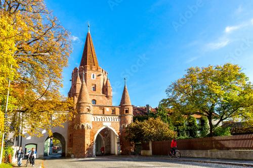 Foto  Kreuztor, Wahrzeichen, Ingolstadt