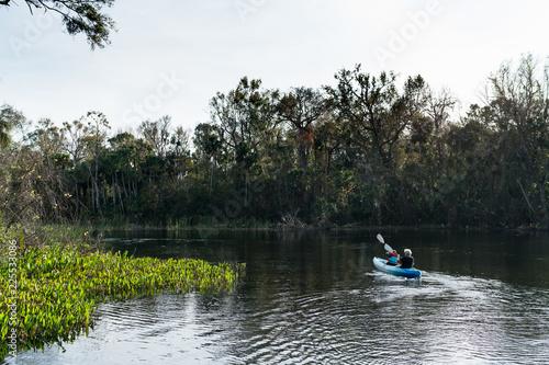 Obraz na plátně Ocala National Forest, Everglades, Florida USA