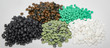Polyethylen Granulate, Batches, Kunststoffrohstoff