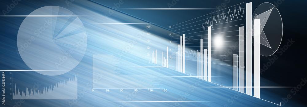 Fototapeta Concept of financial analysis