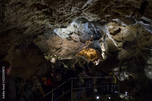 Canvas Prints Marble Belianska cave in High Tatras, Slovakia