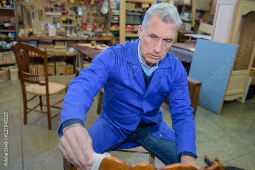 Fotografie, Obraz  the artisanal chair