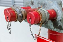 Fire Hydrant Head Closeup Cap House