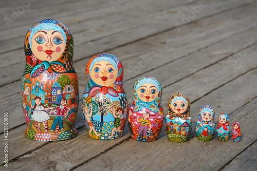 Fotografie, Obraz  Russian nested doll