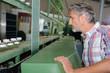 checking the machine