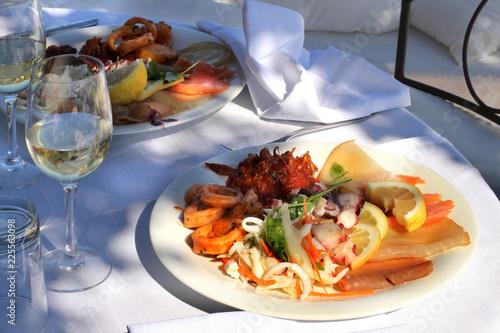 Tuinposter Klaar gerecht piatto di cucina italiana