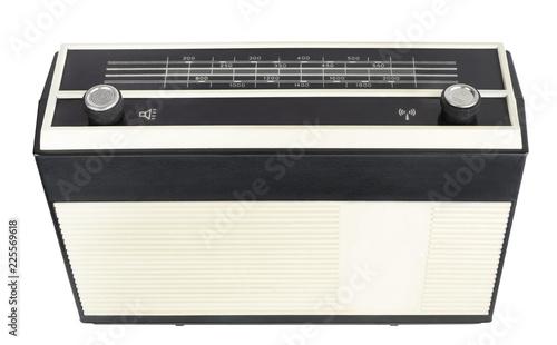 Fotografija  Old transistor portable radio receiver