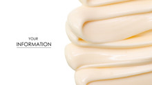 Mayonnaise Macro Cream Pattern...