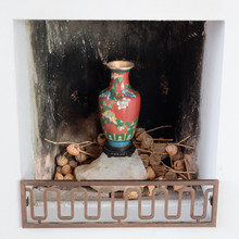 Cloisonne Chinoise Vase Placed...