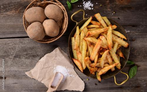 Fotografia, Obraz Homemade potato french fries