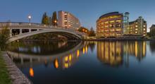 Reading Bridge Over The River Thames, Berkshire , England