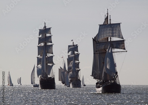 Segelschiffe beim Wilhelmshaven Sailing Cup