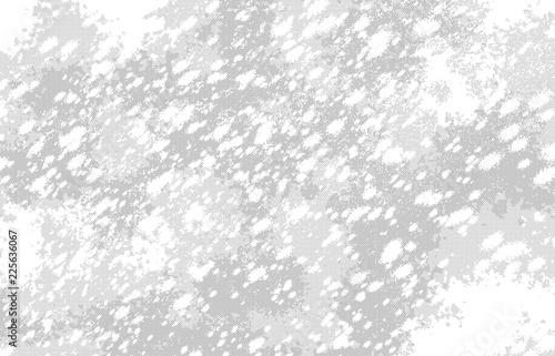漫画風ペン画イラスト 吹雪 - 225636067