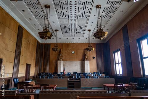 Canvas Print Court House