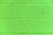 Leinwanddruck Bild - Green concrete wall as background