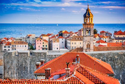 Obraz Dubrovnik, Croatia - Dalmatia Coast, - fototapety do salonu