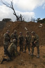 Military Soldiers Training During Military Training