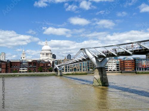 Poster Bridges Millenium Bridge and ST Paul