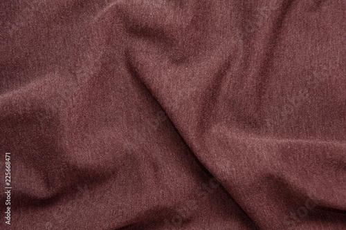 Fotobehang Stof Red wine-colored fabric texture for background