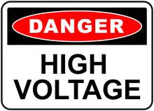 Danger Sign: High Voltage