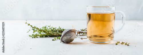 Fototapeta Thyme herbal tea obraz