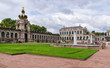 Famous Zwinger palace in Dresden, Saxrony, Germany.