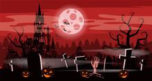 Template Halloween Holiday Pum...