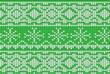 Leinwanddruck Bild - Cool Retro Christmas Jumper Design