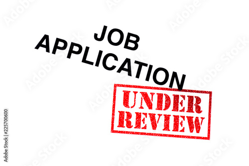 Job Application Under Review - Buy this stock photo and