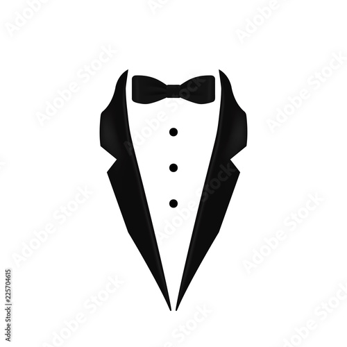 undefeated x on sale outlet store sale black colored bow tie tuxedo collar icon. Element of evening ...