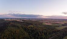 Windpark Paderborn, Luftaufnahme