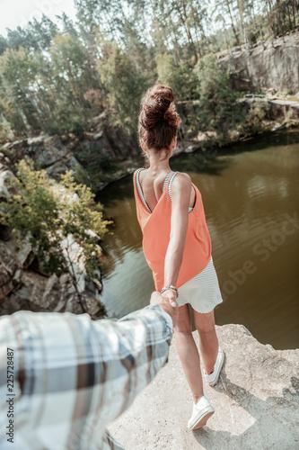 Fotografie, Tablou  Edge of cliff