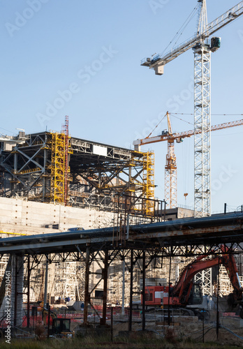 Construction of New Safe Confinement at Chernobyl - Buy this