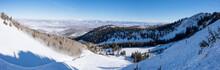 Ski/snowboard Backcountry - Deserted Area - Backcountry Bowl - Park City, Utah