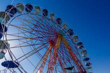 Static Ferris Wheel At A Festi...