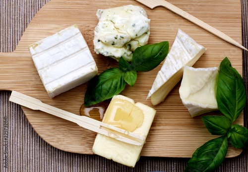 Delicious Cheese Plate