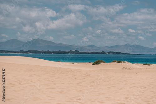 Deurstickers Canarische Eilanden Beach of the Canary Islands