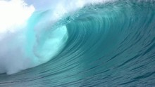 Loop Of SLOW MOTION CLOSE UP: ...