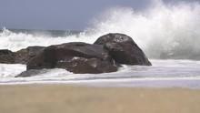 Loop Of SLOW MOTION: Big Waves...