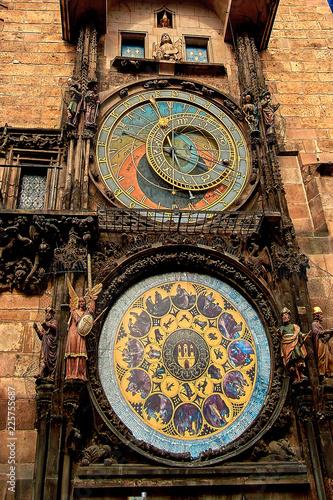 Astronomical Clock Tower at the Prague Old Town Square, Prague, Czech Republic