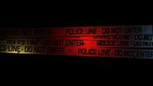 Loop Of Police Line Do Not Cross