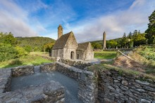 Glendalough Village In Wicklow, Ireland