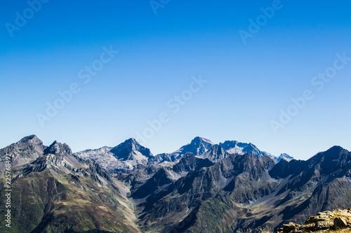 Poster Glaciers Paisaje en los Pirineos