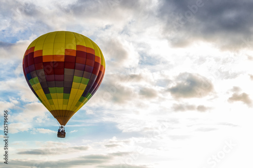 Photo  Hot Air Balloon Over the Sky